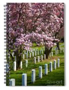 Arlington Cherry Trees Spiral Notebook