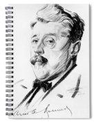 Arnold Bennett (1867-1931) Spiral Notebook