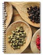 Assorted Peppercorns Spiral Notebook