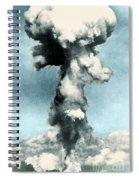 Atomic Bombing Of Nagasaki Spiral Notebook