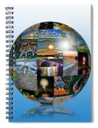 Attractions In Buffalo Ny And Surrounding Areas Spiral Notebook