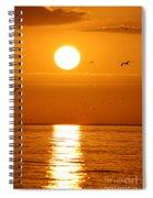 Auburn Sky Spiral Notebook
