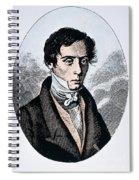 Augustin-jean Fresnel Spiral Notebook