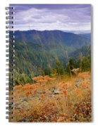 Autumn Whispers Spiral Notebook