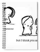 Awesomer Spiral Notebook