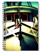 Back In The Harbor Spiral Notebook