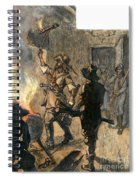 Bacons Rebellion, 1676 Spiral Notebook