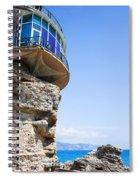 Balcon De Europa In Nerja Spiral Notebook