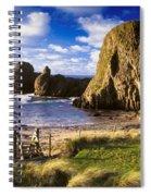 Ballintoy, County Antrim, Ireland Beach Spiral Notebook
