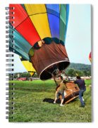 Balloonist - Ready For Takeoff Spiral Notebook