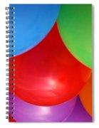 Balloons Background Spiral Notebook