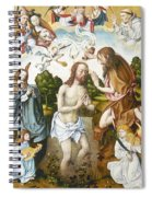 Baptism Of Christ Spiral Notebook