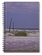 Barnacle Bill's Pier Remnants Spiral Notebook