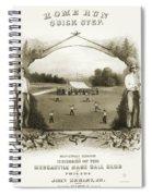Baseball, 1861 Spiral Notebook