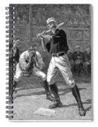 Baseball, 1888 Spiral Notebook