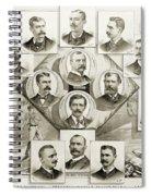 Baseball, 1894 Spiral Notebook