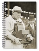 Baseball: Camera, C1911 Spiral Notebook