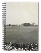 Baseball Game, 1904 Spiral Notebook