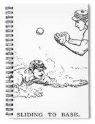 Baseball Players, 1889 Spiral Notebook
