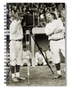 Baseball Players, 1920s Spiral Notebook