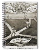 Baseball Polka, 1867 Spiral Notebook