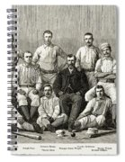 Baseball: Providence, 1882 Spiral Notebook