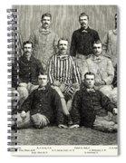 Baseball: White Stockings Spiral Notebook
