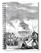 Battle Of Quarisma, 1857 Spiral Notebook