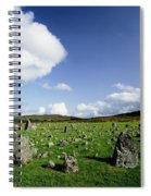 Beaghmore Stone Circles, Co. Tyrone Spiral Notebook