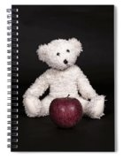 Bear And Apple Spiral Notebook
