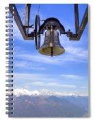 Bell In Heaven Spiral Notebook