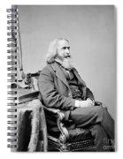 Benjamin Peirce, American Mathematician Spiral Notebook