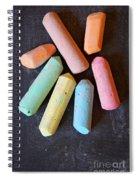 Blackboard Chalk Spiral Notebook
