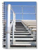 Bleachers Spiral Notebook