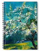 Blooming Appletree Spiral Notebook