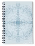 Blueprint Spiral Notebook
