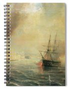 Bombardment Of Sale Spiral Notebook