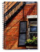 Boston House Fragment Spiral Notebook
