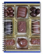 Box Of Chocolates Spiral Notebook