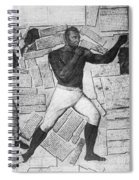 Thomas Molineaux Spiral Notebook