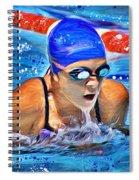 Breaststroke Spiral Notebook