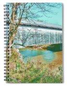 Bridge In Montgomery Spiral Notebook