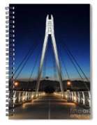 Bridge To Twilight Spiral Notebook