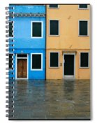 Burano Italy 1 Spiral Notebook