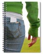 Butt Spiral Notebook