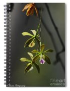 Butterfly Orchid Spiral Notebook