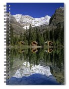 Cabins, Sargents Point, Lake Ohara Spiral Notebook