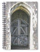 Caerphilly Castle Gate Spiral Notebook