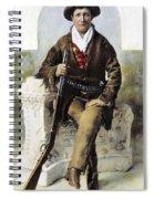 Calamity Jane (c1852-1903) Spiral Notebook