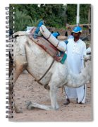 Camel Riders Spiral Notebook
